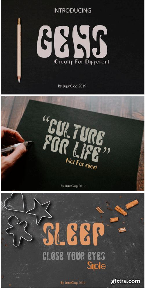 Gens New Font