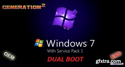 Windows 7 SP1 AIO DUAL-BOOT 31in1 OEM ESD August 2019