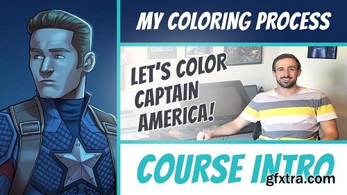 My Coloring Process: A Step-By-Step Guide In Adobe Photoshop