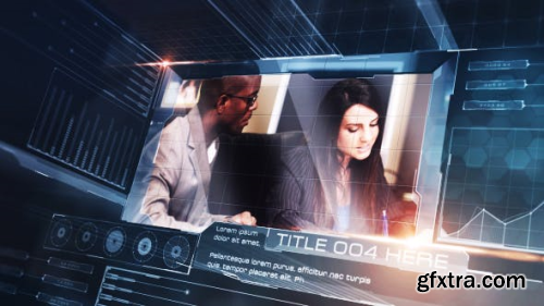 VideoHive High Tech HUD Slides 15787449