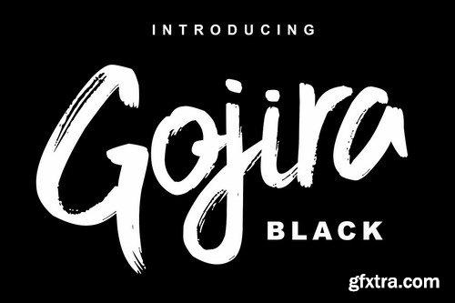 CM - Gojira Black Font 3987879