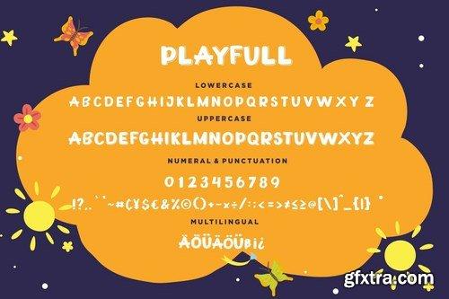 Playfull Joyful Sans