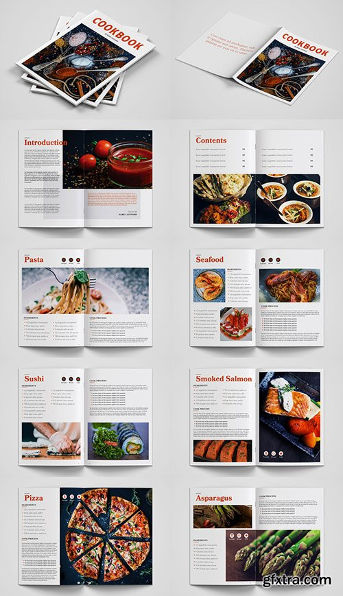 Cookbook Layout 238430554
