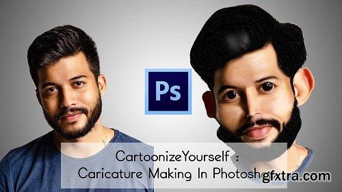 CartoonizeYourself : Caricature Making In Photoshop