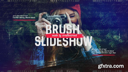 VideoHive Brush Slideshow Memories Photo Album Family and Friends Travel and Journey 20177141