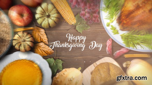 VideoHive Thanksgiving Special Promo 22822514