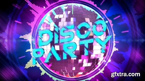 VideoHive Disco Party Opener 24372968