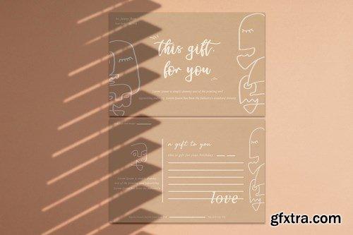 Gift Card Greeting card