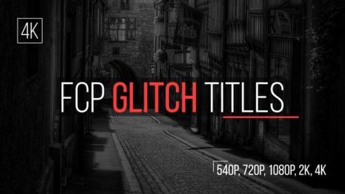 Udemy - FCP Glitch Titles