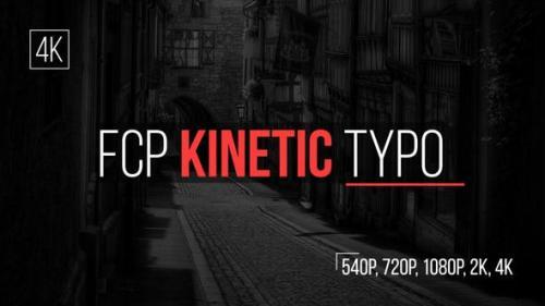 Udemy - FCP Kinetic Typo