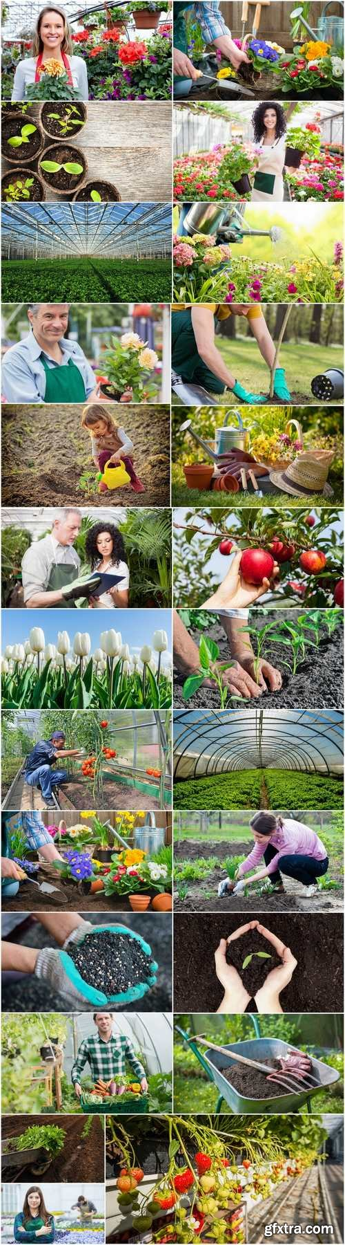 People and gardening 25 HQ Jpeg