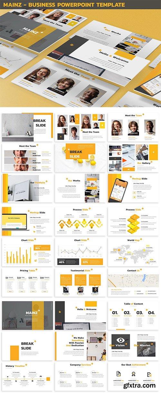 Mainz - Business Powerpoint Template