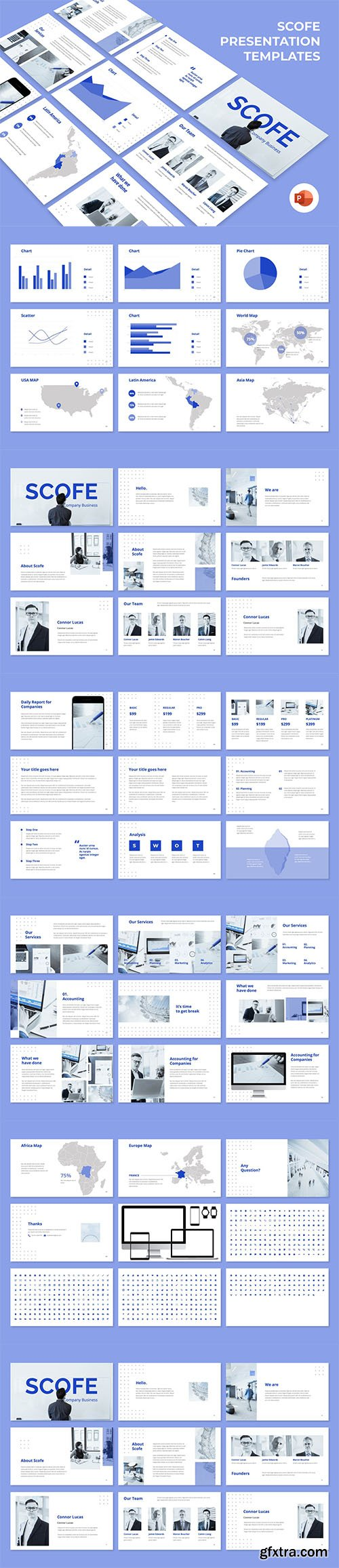 Scofe - Business Powerpoint, Keynote and Google Slides Templates