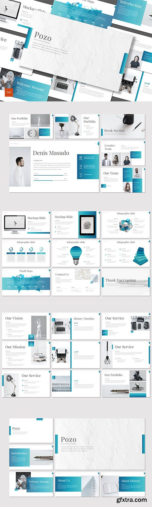 Pozo - Business Powerpoint, Keynote and Google Slides Templates