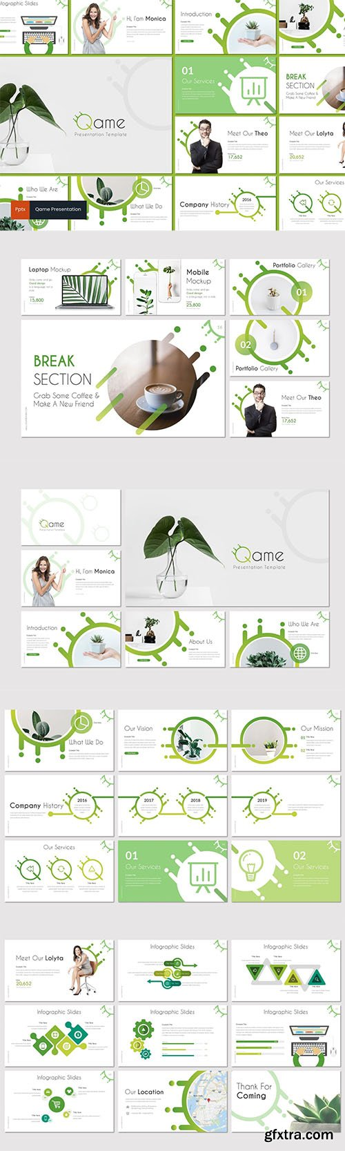 Qame - Business Powerpoint, Keynote and Google Slides Templates
