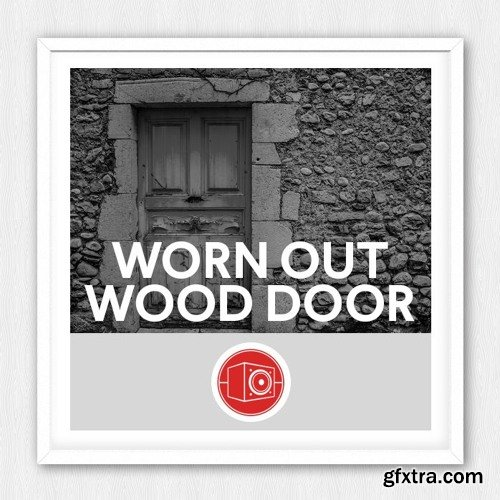 Big Room Sound Worn Out Wood Door WAV