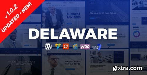 ThemeForest - Delaware v1.0.3 - Consulting and Finance WordPress Theme - 22717618
