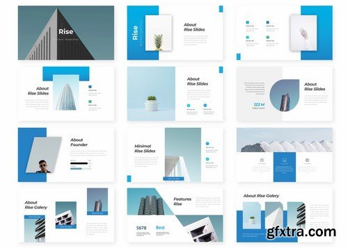 Rise - Powerpoint Google Slides and Keynote Templates