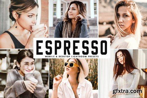 Espresso Mobile & Desktop Lightroom Presets