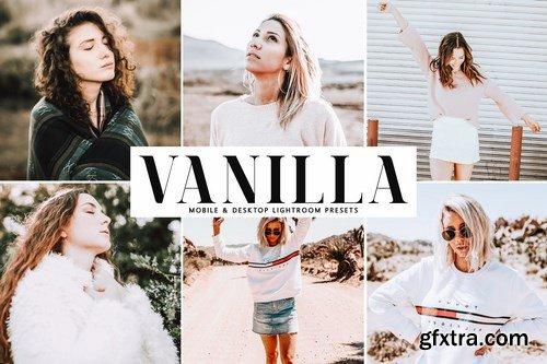 Vanilla Mobile & Desktop Lightroom Presets