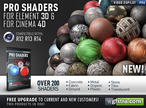 Videocopilot Pro Shaders for Cinema 4D
