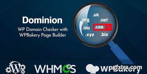CodeCanyon - Dominion v1.0.0 - WP Domain Checker with WPBakery Page Builder - 24218542