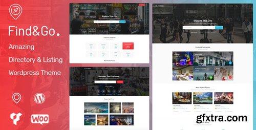 ThemeForest - Findgo v1.3.20 - Directory Listing WordPress Theme - 21943352