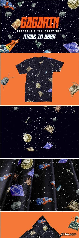 Gagarin - Patterns & Illustrations 1714953
