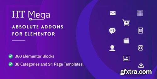 CodeCanyon - HT Mega Pro v1.0.2 - Absolute Addons for Elementor Page Builder - 24288297