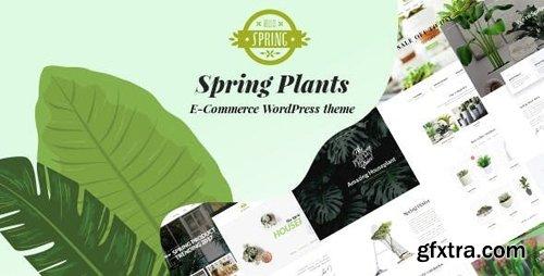 ThemeForest - Spring Plants v2.1 - Gardening & Houseplants WordPress Theme - 21580907