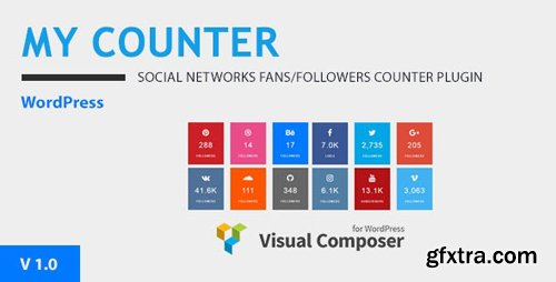 CodeCanyon - MY-Counter v1.0.0 - Visual Composer Addon & WordPress Widget - 20787608
