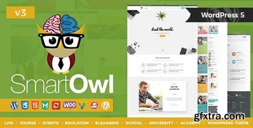ThemeForest - SmartOWL v3.1 - LMS Education WordPress Theme  + RTL - 13720380