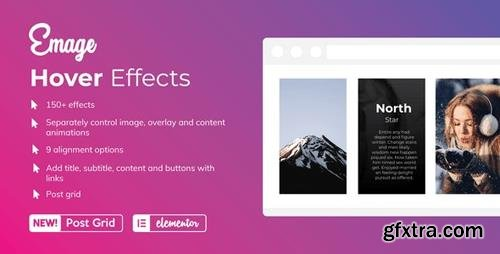CodeCanyon - Emage v4.0 - Image Hover Effects for Elementor - 22563091