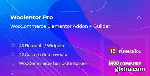 CodeCanyon - WooLentor Pro v1.0.4 - WooCommerce Page Builder Elementor Addon - 23896302