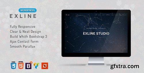ThemeForest - Exline v1.5.9 - One Page Multipurpose WordPress Theme - 13636656