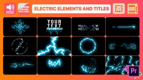 Udemy - Cartoon Electricity And Titles | Premiere Pro MOGRT