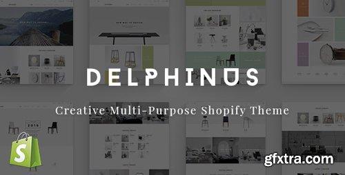 ThemeForest - Delphinus v1.0.5 - Creative Multi-Purpose Shopify Theme - 16363375