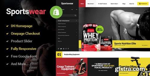ThemeForest - Sportwear v1.0.1 - Multi Store Responsive Shopify Theme - 15871532