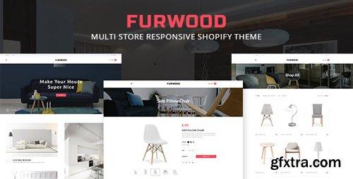 ThemeForest - FurWood v1.0.0 - Multi Store Responsive Shopify Theme - 19716919