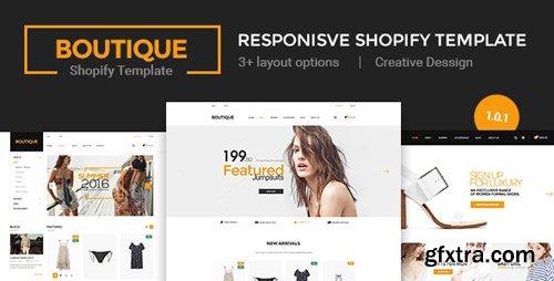 ThemeForest - Boutique v1.0.1 - Multi Store Responsive Shopify Theme - 18553188