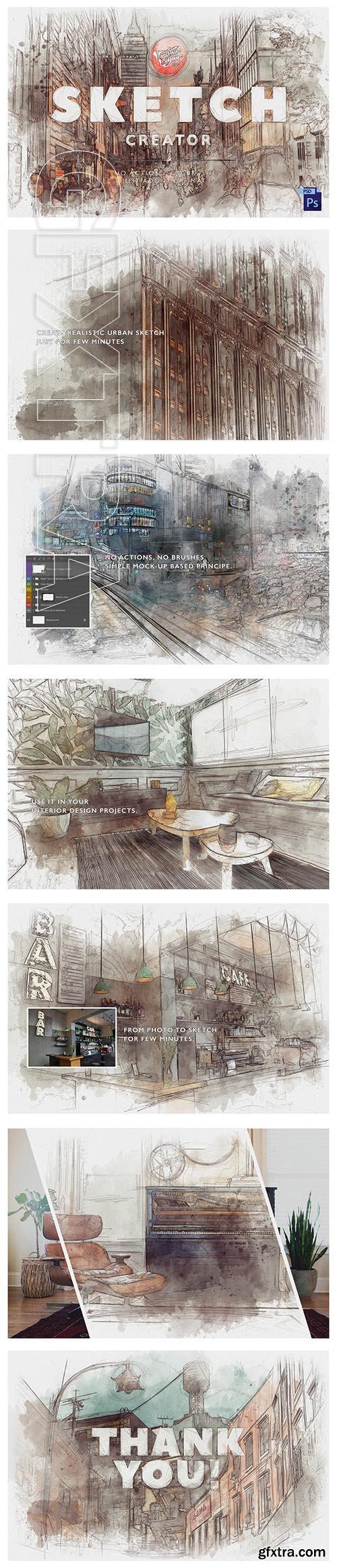 CreativeMarket - VVDS Sketch Creator 4021313