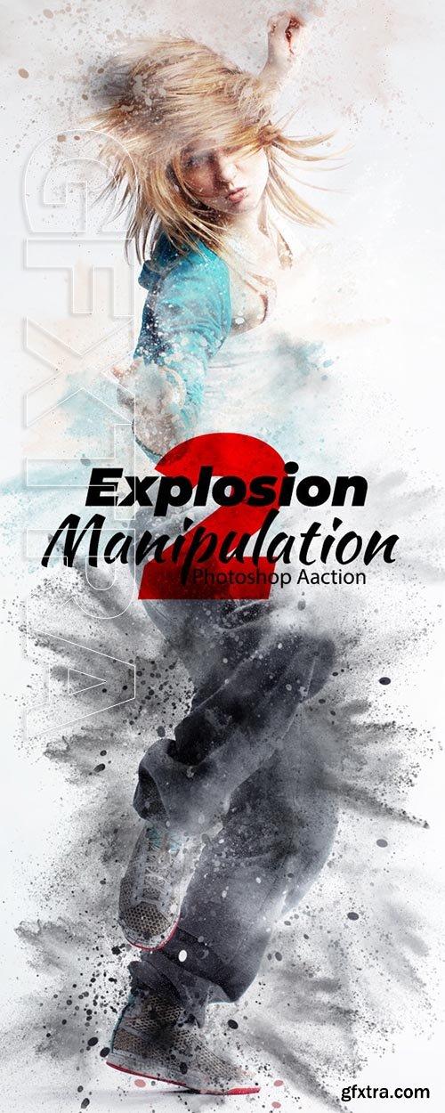 GraphicRiver - Explosion Photoshop Action 24374682