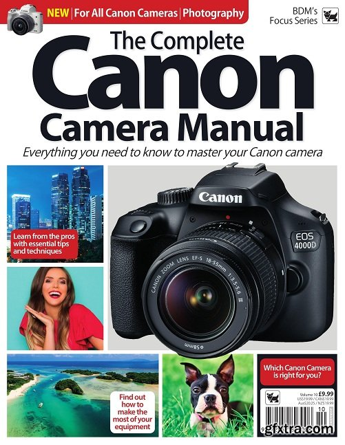 The Complete Canon Camera Manual – August 2019