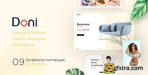 ThemeForest - Doni v1.0.0 - Minimalist Shopify Theme - 23146704