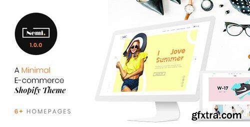 ThemeForest - Nemi v1.0.0 - Multi Store Responsive Shopify Theme - 23066770