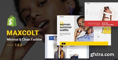ThemeForest - MAXCOLT v1.0.0 - Minimal & Clean Fashion Shopify Theme - 24024227