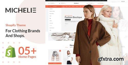 ThemeForest - MICHELIE v1.0 - Minimal & Clean Fashion Shopify Theme - 24025106