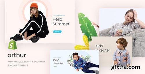 ThemeForest - Arthur v1.0.0 - Minimal, Clean & Beautiful Shopify Theme - 23550857
