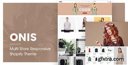 ThemeForest - ONIS v1.0.0 - Multi Store Responsive Shopify Theme - 22706503