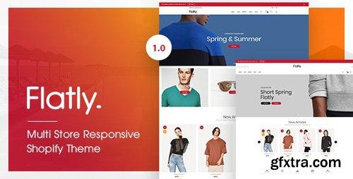 ThemeForest - Flatly v1.0.0 - Multi Store Responsive Shopify Theme - 22065403